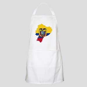 Ecuador Flag and Map Apron