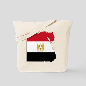 Egypt Flag and Map Tote Bag