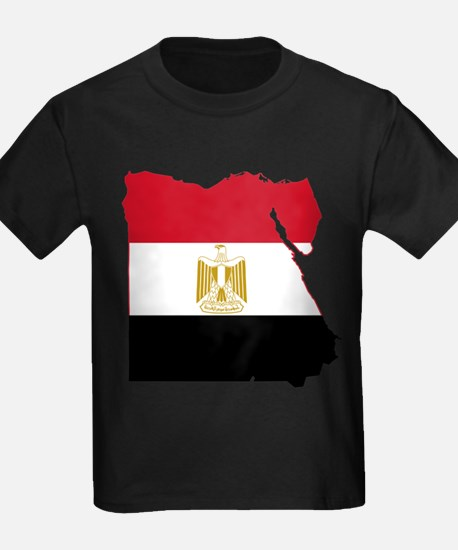 Egypt Flag and Map T