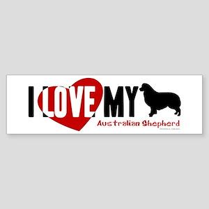 Australian Shepherd Sticker (Bumper)