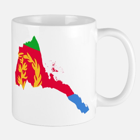 Eretria Flag and Map Mug