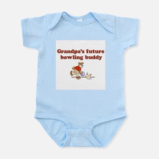 Grandpa's Future Bowling Buddy Infant Creeper