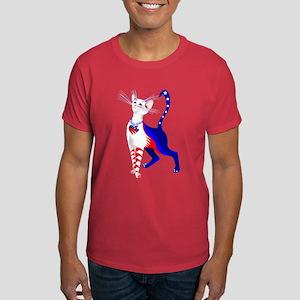 An All American Cat Dark T-Shirt