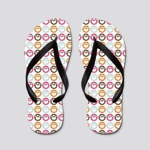 Paw Prints Sweet Confection Flip Flops