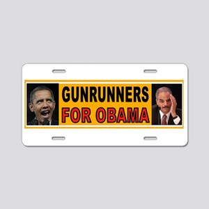 CONTEMPTIBLE DUO Aluminum License Plate