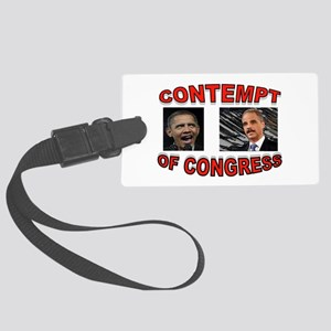 CONTEMPTIBLE DUO Large Luggage Tag