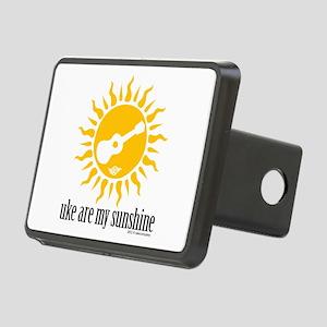 uke are my sunshine Rectangular Hitch Cover