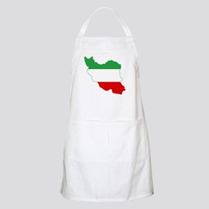 Iran Tricolor Flag and Map Apron