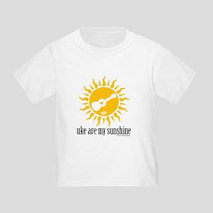 uke are my sunshine Toddler T-Shirt