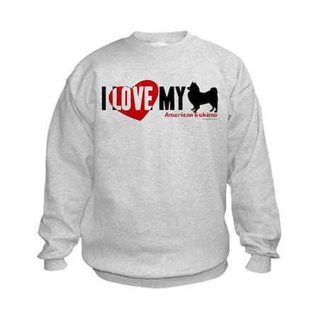 American Eskimo Kids Sweatshirt
