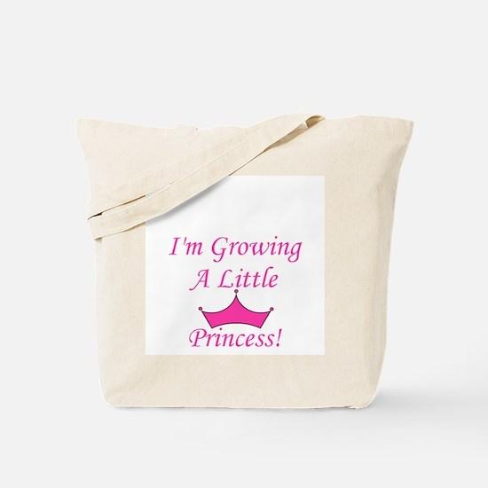 Growing A Little Princess Tote Bag