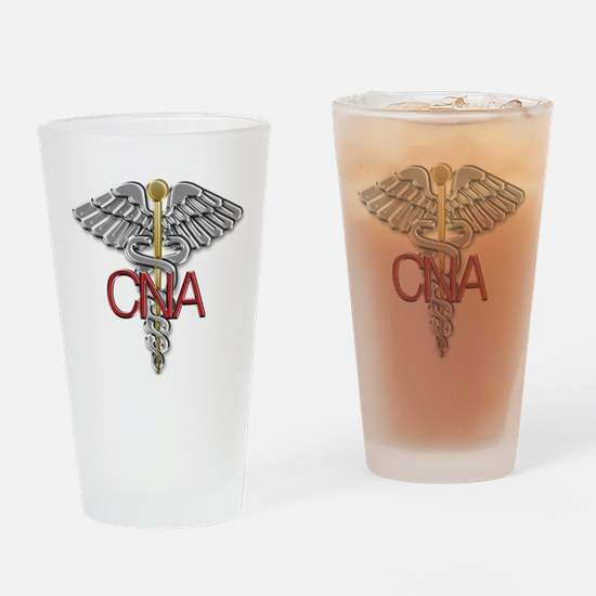 CNA Medical Symbol Drinking Glass