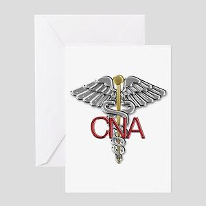 CNA Medical Symbol Greeting Card