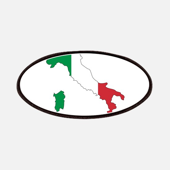 Italy Flag and Map Patches