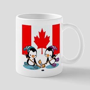 Canada Ice Hockey Penguins 11 oz Ceramic Mug