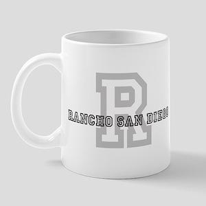 Rancho San Diego (Big Letter) Mug