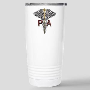 PA Medical Symbol Stainless Steel Travel Mug