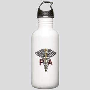 PA Medical Symbol Stainless Water Bottle 1.0L
