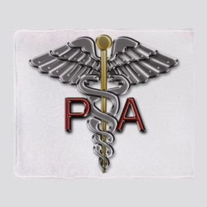 PA Medical Symbol Throw Blanket