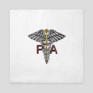 PA Medical Symbol Queen Duvet
