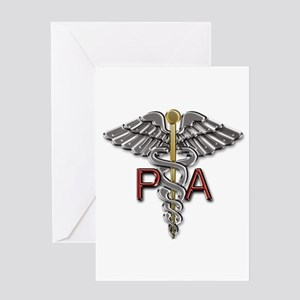 PA Medical Symbol Greeting Card