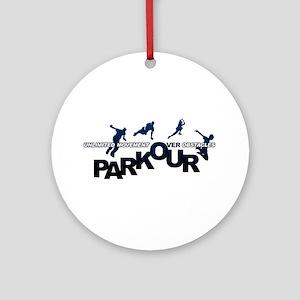 parkour3 Ornament (Round)