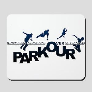 parkour3 Mousepad