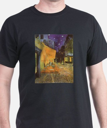 Van Gogh, Cafe Terrace at Night T-Shirt