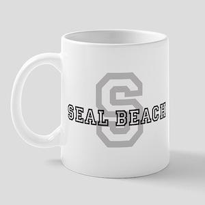 Seal Beach (Big Letter) Mug