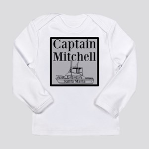 Personalized Captain Long Sleeve Infant T-Shirt