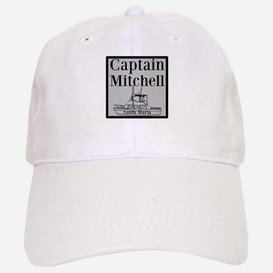 Personalized Captain Baseball Baseball Cap