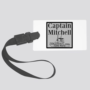 Personalized Captain Large Luggage Tag