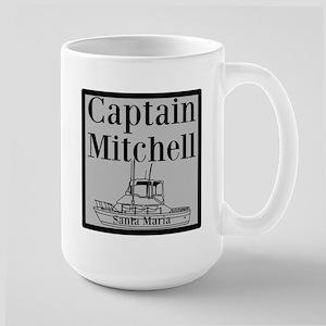 Personalized Captain Large Mug