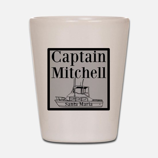 Personalized Captain Shot Glass