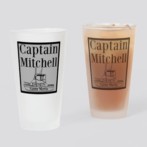 Personalized Captain Drinking Glass
