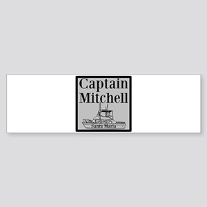 Personalized Captain Sticker (Bumper)