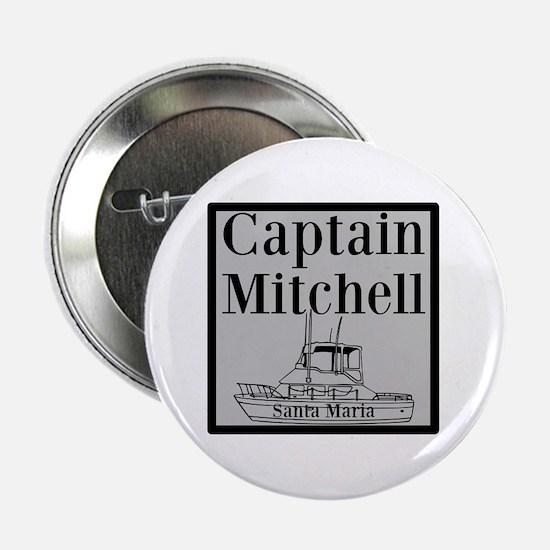 "Personalized Captain 2.25"" Button"