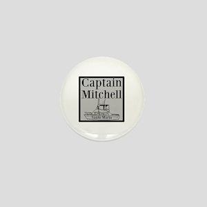 Personalized Captain Mini Button