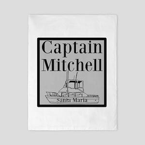 Personalized Captain Twin Duvet