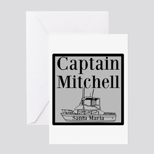 Personalized Captain Greeting Card