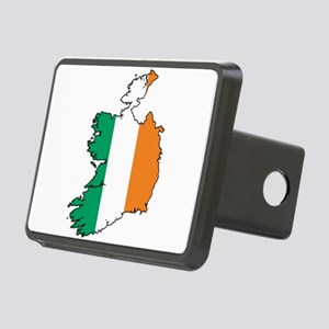 Flag Map of Ireland Rectangular Hitch Cover