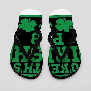 Personalized Irish Pub Flip Flops