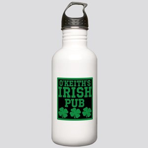 Personalized Irish Pub Stainless Water Bottle 1.0L