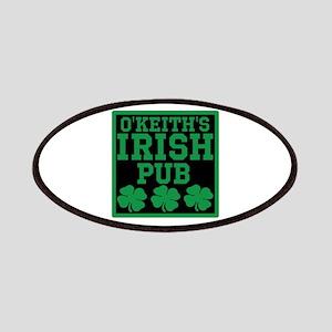Personalized Irish Pub Patches