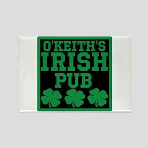 Personalized Irish Pub Rectangle Magnet
