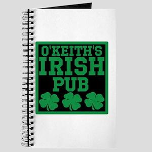 Personalized Irish Pub Journal