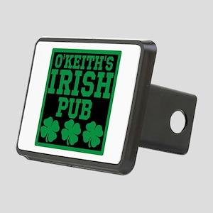 Personalized Irish Pub Rectangular Hitch Cover