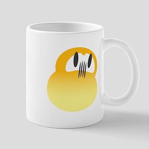 Yellow Daruma Mug