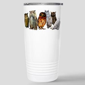OwlLine Stainless Steel Travel Mug