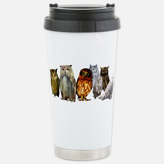 OwlLine.png Stainless Steel Travel Mug